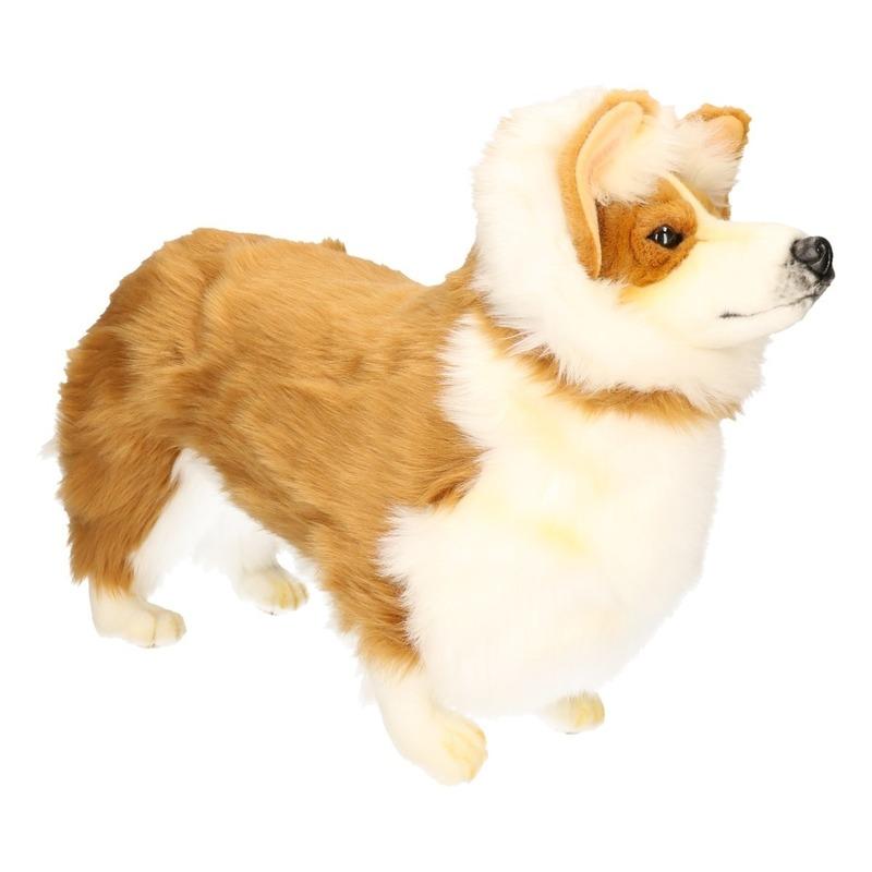 ba20c2766f131f Hansa pluche Corgie honden knuffel 50 cm - de officiële Toppers in ...