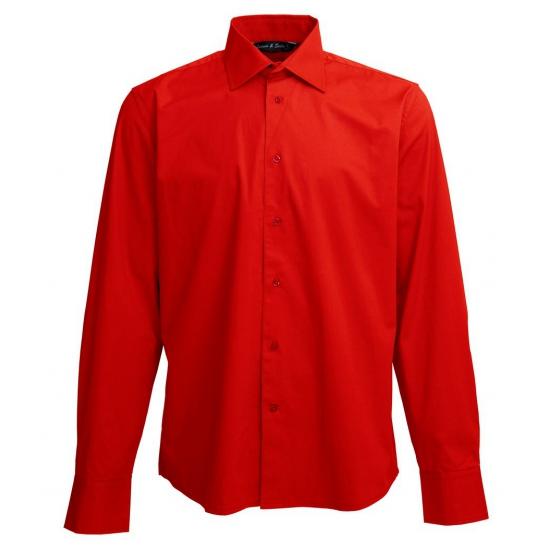 Heren Overhemd Rood.Toppers Heren Overhemd Rood De Officiele Toppers In Concert Winkel