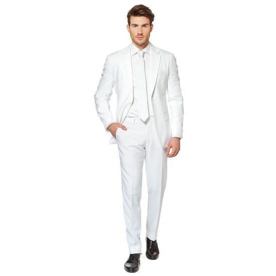 Luxe heren kostuum wit