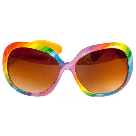 6bd39794f006e8 Regenboog zonnebril - de officiële Toppers in concert winkel